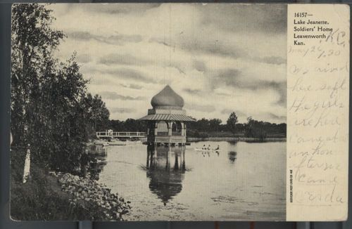 National Soldier's Home bandstand, Leavenworth, Kansas (#2) - Page