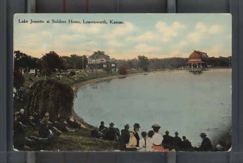 Soldier's Home bandstand, Leavenworth, Kansas - Page