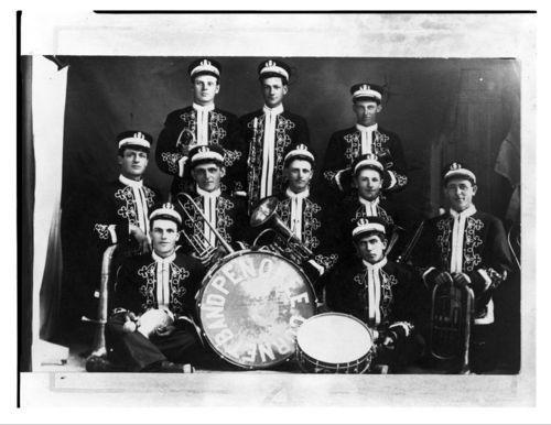 Penokee Cornet Band, Penokee, Kansas - Page
