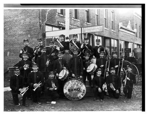 Sedgwick High School Band, Sedgwick, Kansas - Page