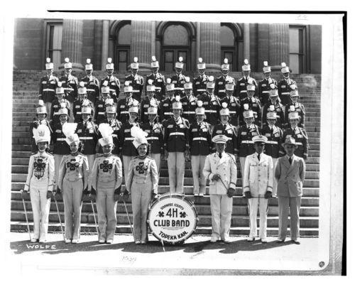 Shawnee County 4-H Club band in Topeka, Kansas - Page