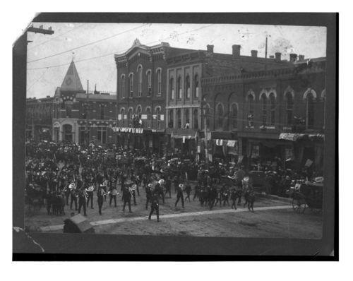 Sells Brothers Circus Parade, Emporia, Kansas - Page