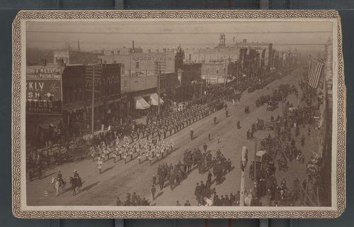 Preston B. Plumb's Funeral, Topeka, Kansas - Page