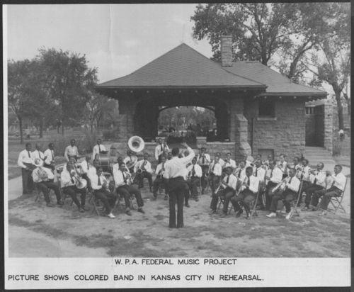 Band rehearsal, Kansas City, Kansas - Page