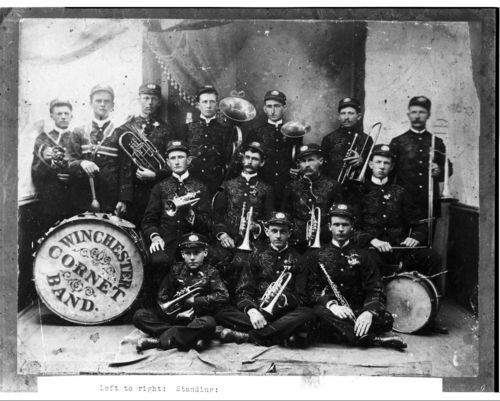 Winchester Cornet Band - Page