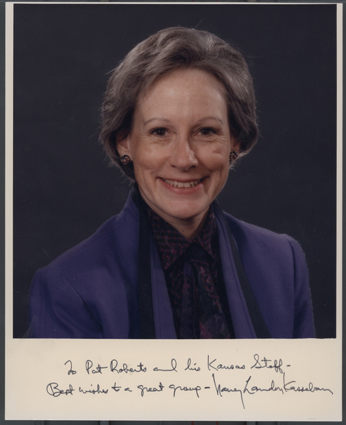 Nancy Kassebaum - Page