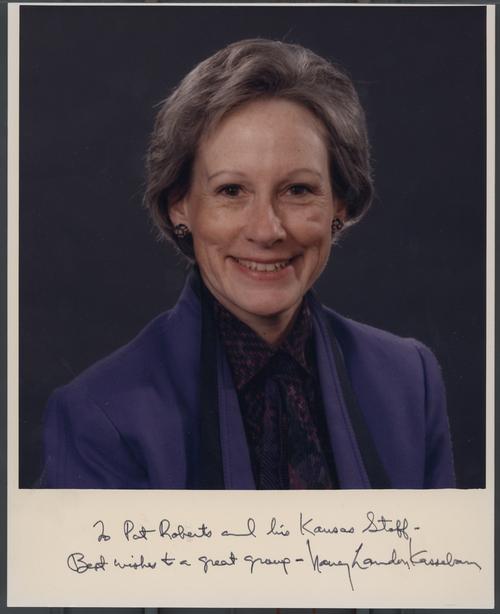 Nancy Kassebaum - Page
