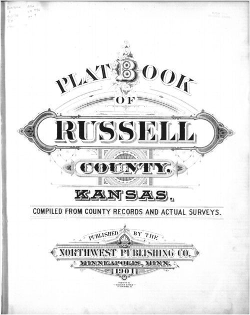 Plat book, Russell County, Kansas - Page