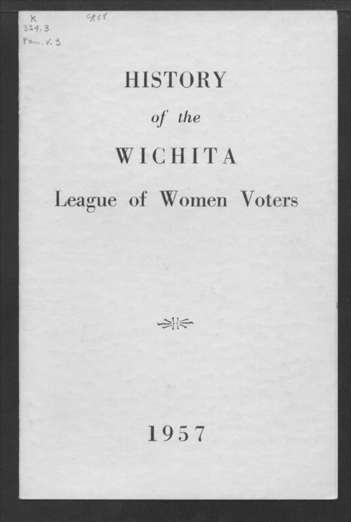 History of the Wichita League of Women Voters - Page