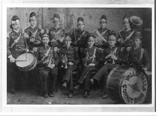 Valley Falls Cornet Band, Kansas - Page