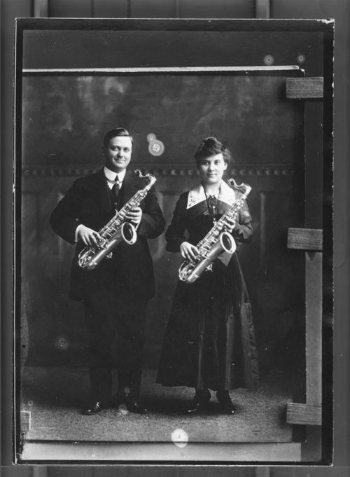Saxophone Players - Page