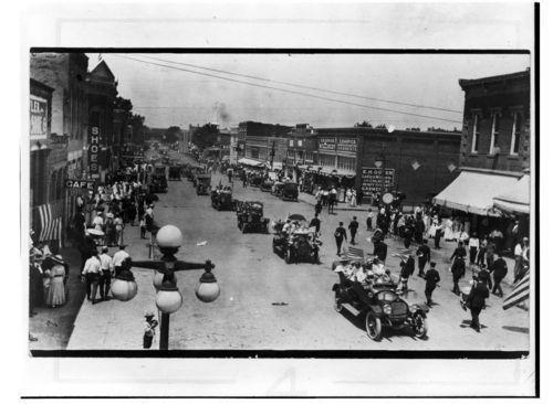 Parade, Neodesha, Kansas  (#3) - Page
