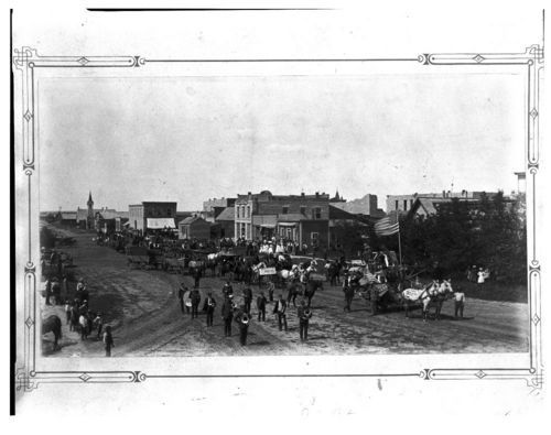Parade, Cawker City, Kansas - Page
