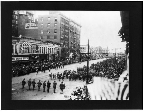 World War I parade, Wichita, Kansas - Page