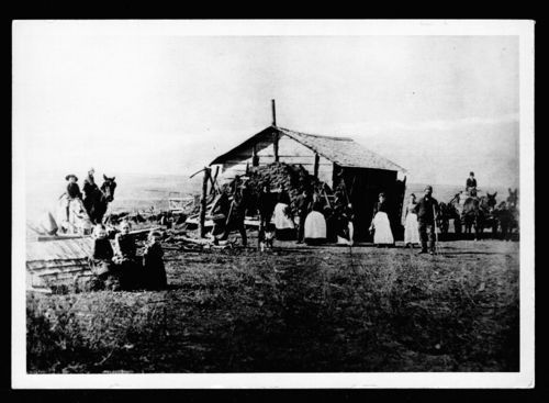 Robert Burgin homestead, Barber County, Kansas - Page