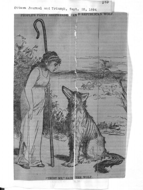 People's Party shepherdess and republican wolf - Page