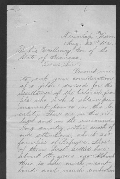 Andrew Atchison to John P. St. John - Page