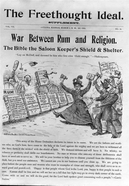 War between rum and religion - Page