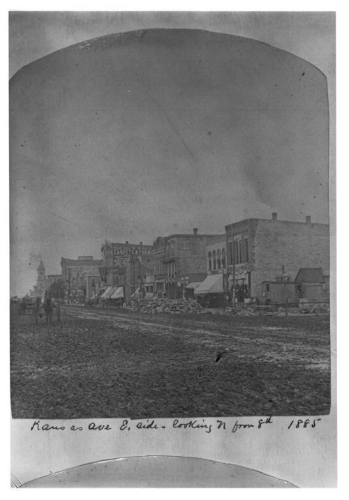 East side of Kansas Avenue, Topeka, Kansas - Page