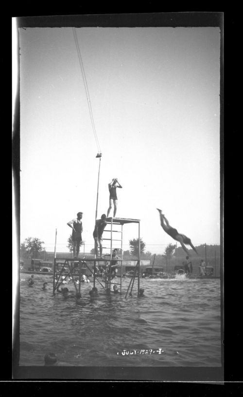 Swimming pool, Marysville, Kansas - Page