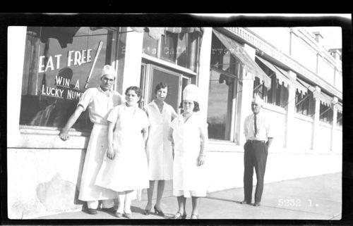 Book's Cafe, Marysville, Kansas - Page