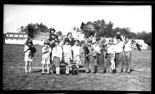 Children at a local fair, Marshall County, Kansas - Page