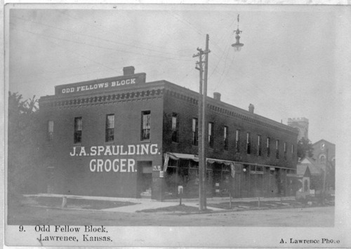 Odd Fellows Block, Lawrence, Kansas - Page