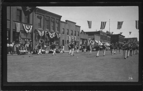 Marching band, Marysville, Kansas - Page