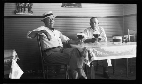 Drinking beers, Marysville, Kansas - Page