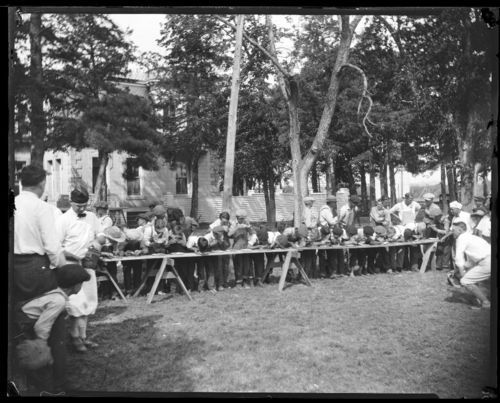 Pie eating contest, Marysville, Kansas - Page