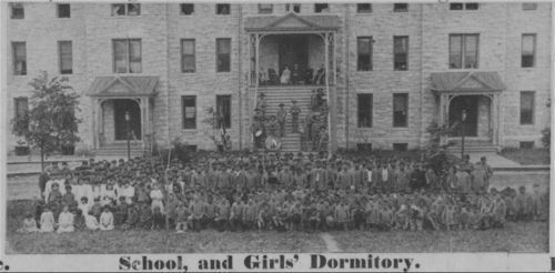 Girls' dormitory at Haskell Institute, Lawrence, Kansas - Page