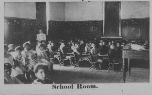 School room at Haskell Institute - Page