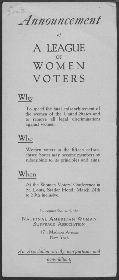 League of Women Voter's 50th Annual Conference - Page