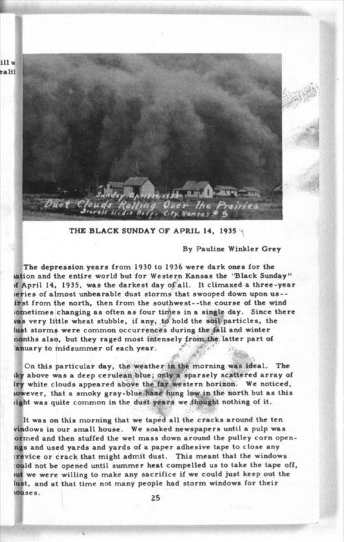 The Black Sunday of April 14, 1935 - Page