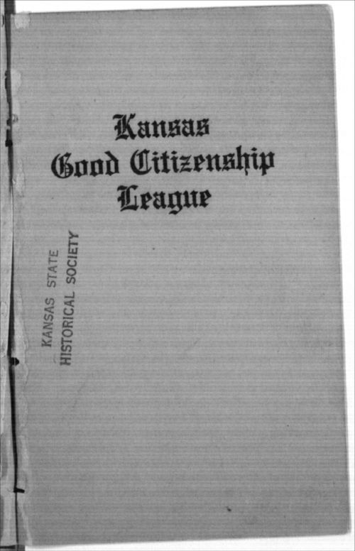 Kansas Good Citizenship League, Inter-State Suffrage Banquet - Page