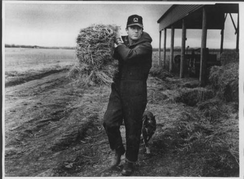 Governor John Carlin on his farm - Page