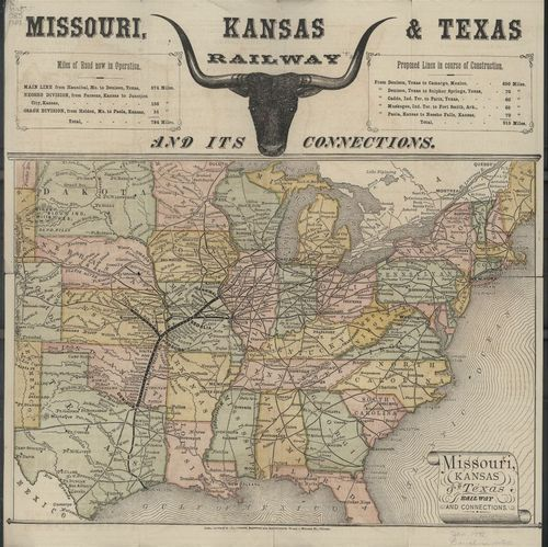 Missouri, Kansas & Texas Railway and its Connections - Page