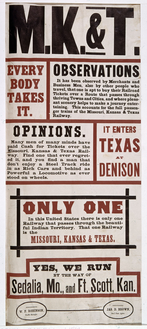 Missouri, Kansas & Texas. Everybody takes it - Page