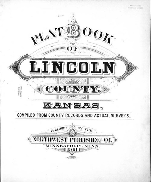 Plat book of Lincoln County, Kansas - Page