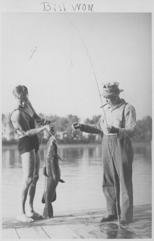 Bill and Bob Maxwell at Lake View [Lakeview] in Douglas County, Kansas - Page