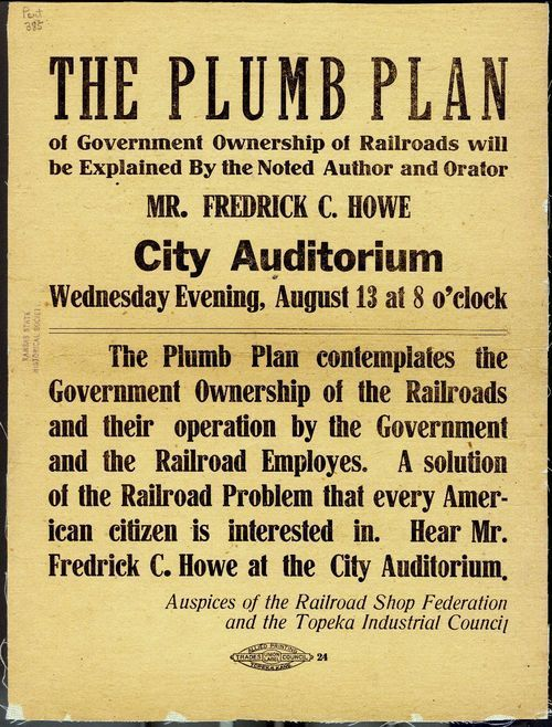 The Plumb Plan of Government Ownership of Railroads - Page