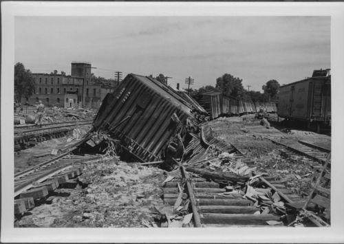 Atchison, Topeka & Santa Fe Railway Company tracks, Topeka, Kansas - Page