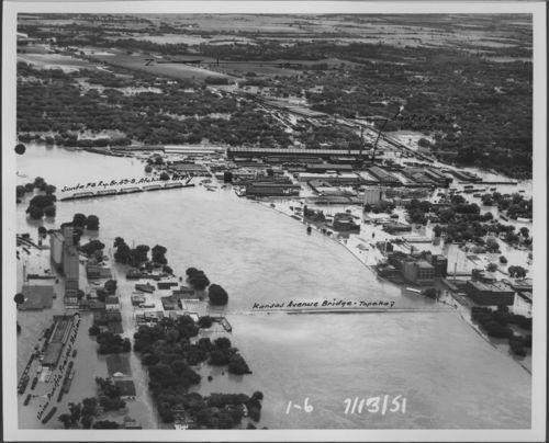 Flooding on the Kansas River, Topeka, Kansas - Page