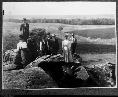 Cave on Bull Foot Creek, Lincoln, Kansas - Page
