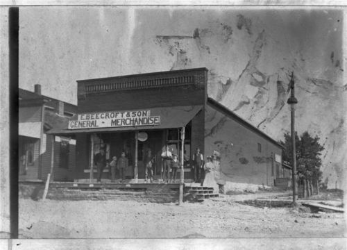 E. Beecroft & Son General Merchandise Store, De Soto, Kansas - Page