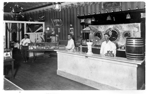 Soda fountain, De Soto, Kansas - Page