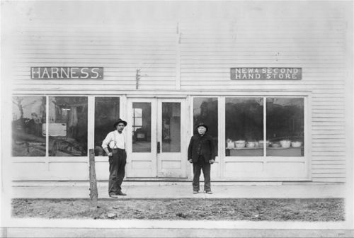 Harness and second hand store, De Soto, Kansas - Page