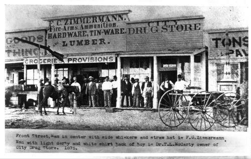 Front Street businesses, Dodge City, Kansas - Page