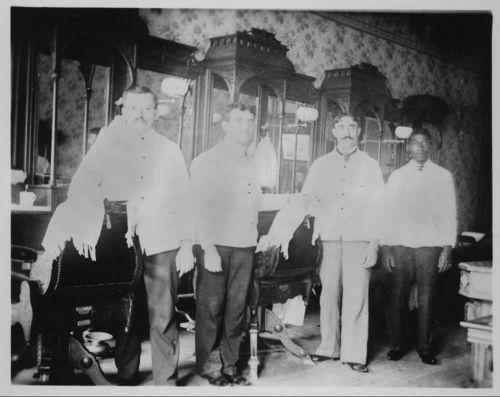 Barbershop, Dodge City, Kansas - Page