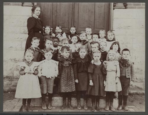 Kindergarten Class from Potwin School, Topeka, Kansas - Page